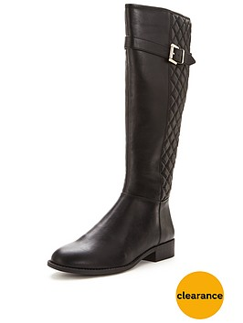 lipsy-quilted-knee-high-boot