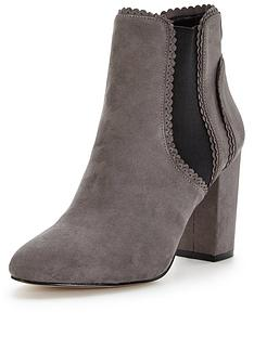 lipsy-block-elastic-ankle-boot