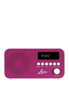 LAVA DAB Radio - Purple