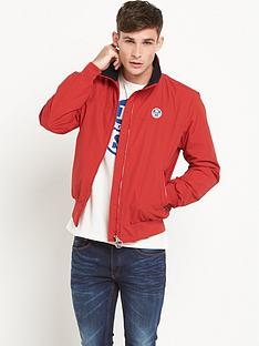 north-sails-bernard-fleece-lined-jacket-red