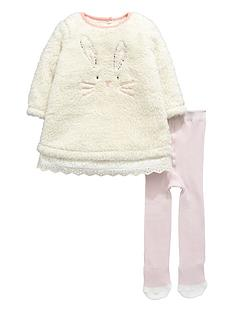 ladybird-baby-girls-fleece-dress-with-tights