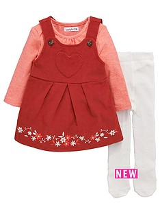 ladybird-baby-girls-cord-pinafore-top-and-tights-set