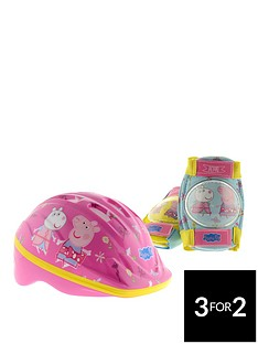 peppa-pig-safety-helmet-and-pads-set