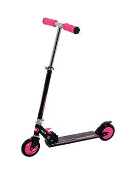 Wired Folding In-Line Scooter &Ndash; Pink