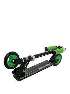 Wired Folding In Line Scooter - Green