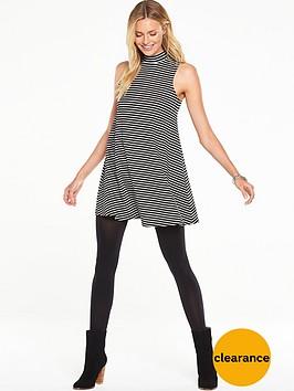 v-by-very-turtle-neck-rib-swing-jersey-dress