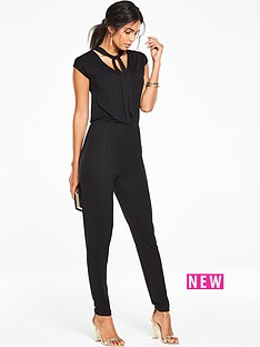 v-by-very-petite-tie-neck-jumpsuit