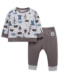 ladybird-baby-boys-bear-print-sweat-top-and-joggers-set