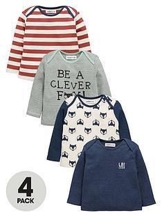 ladybird-baby-boys-foxstripe-t-shirts-4-pack
