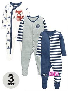 ladybird-baby-boys-3-pack-fashion-sleepsuits