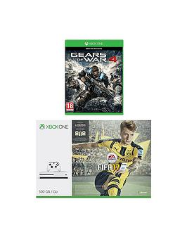 xbox-one-s-500gb-console-with-gears-of-war-4-with-additional-controller-and-12-months-xbox-live