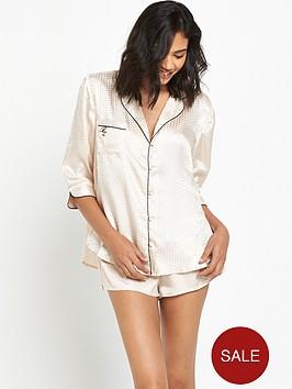 river-island-geo-jacquard-pyjama-shirtnbsp