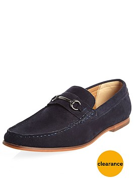 river-island-mens-snaffle-loafer-navy