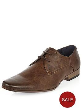 river-island-river-island-mens-smart-embossed-shoe-dark-brown