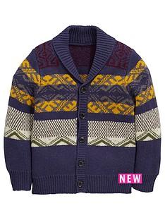 mini-v-by-very-boys-shawl-collar-cardigan