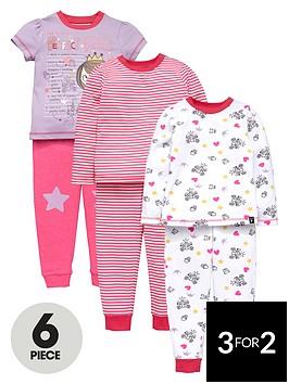 mini-v-by-very-girls-perfect-princess-pyjamas-set-6-piece