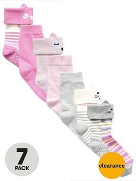 mini-v-by-very-girls-cute-animal-novelty-socks-7-pack