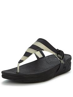 fitflop-superjelly-black-stripe