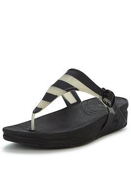 fitflop-superjelly-black-stripe