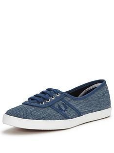 fred-perry-aubrey-space-dyed-canvas-pump