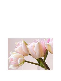 arthouse-soft-pink-tulips-printed-canvas