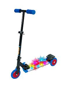 cosmic-light-scooter-with-step-on-function-blue
