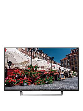 Sony Kdl49Wd751Bu 49 Inch Full Hd, Smart Tv With X-Reality Pro - Black
