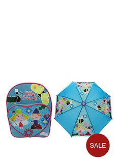 ben-hollys-little-kingdom-ben-amp-holly-heart-pocket-backpack-amp-umbrella-set