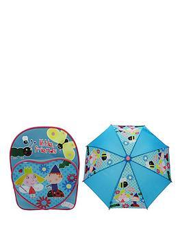 ben-hollys-little-kingdom-ben-amp-holly-heart-pocket-backpack-amp-umbrella-set