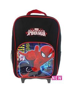 spiderman-reflective-wheeled-bag