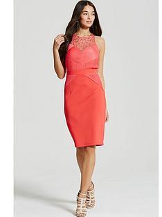 little-mistress-embellished-pleat-bodycon-midi-dress