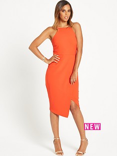 rochelle-humes-strappy-bodycon-dress
