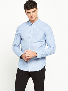 hilfiger-denim-end-on-end-long-sleeve-shirt