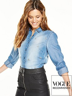 v-by-very-embellished-denim-shirt