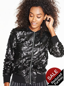 v-by-very-sequin-bomber