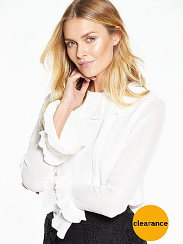 v-by-very-pleated-collar-blouse