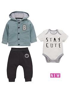 ladybird-baby-boys-3pc-hooded-sweat-bodysuit-and-jogger-set