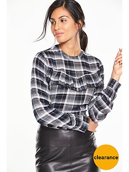 v-by-very-ruffle-check-blouse
