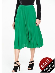 v-by-very-pleated-midi-skirt-green