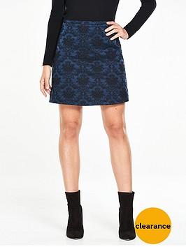 v-by-very-jacquard-a-line-skirt