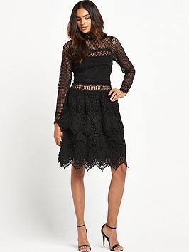 miss-selfridge-miss-selfridge-mixed-lace-long-sleeve-dress