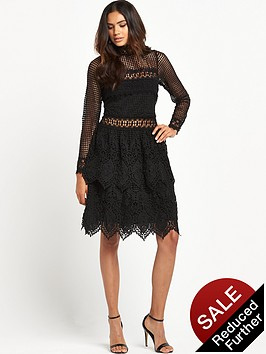 miss-selfridge-miss-selfridge-mixed-lace-long-sleeve-dress