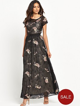 miss-selfridge-lace-and-floral-embellished-maxi-dress-black