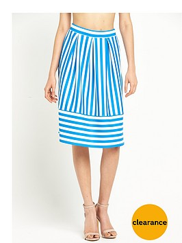 miss-selfridge-stripe-scuba-petite-midi-skirt-bluewhite