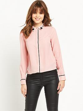 miss-selfridge-miss-selfridge-embellished-collar-tipping-shirt