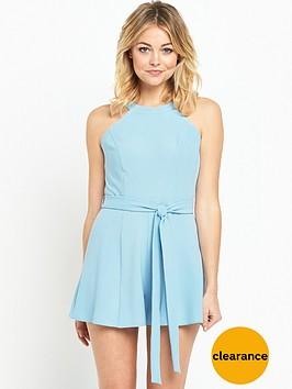 miss-selfridge-90snbspneck-flippy-petite-playsuit-royal-blue