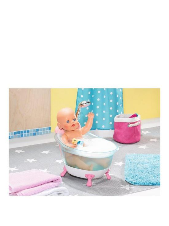 Baby Born Interactive Bathtub with Foam | very.co.uk