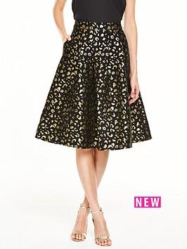 v-by-very-animal-jacquard-full-skirt