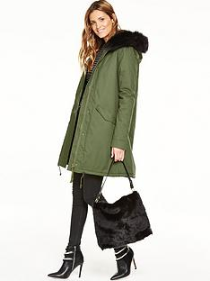 v-by-very-long-army-swing-parka-coat