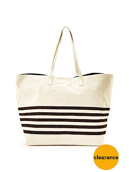 warehouse-stripe-beach-bag